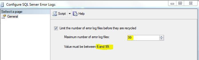 arquivos do errorlog