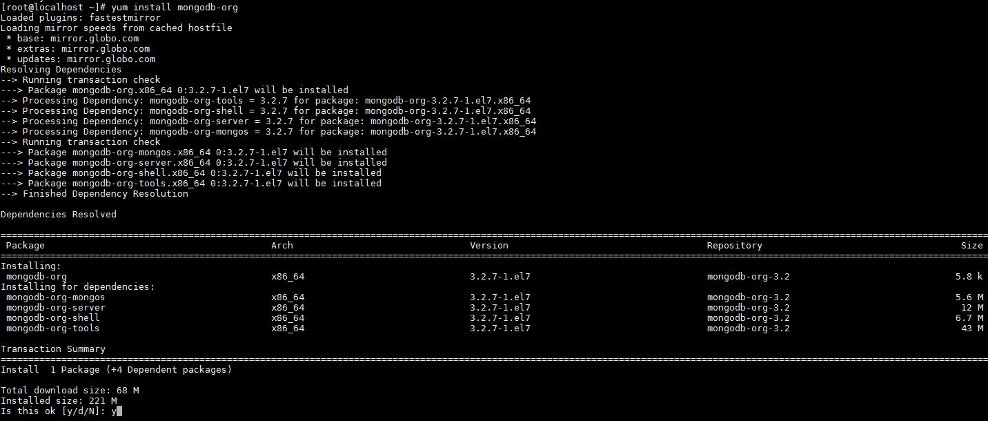 MongoDB - Instalação Pacote