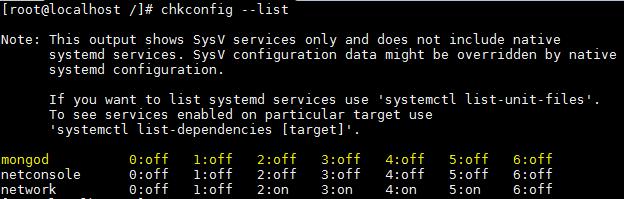 MongoDB - checar serviço - inicializacao