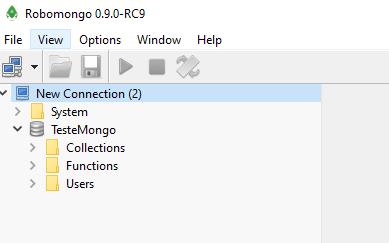 MongoDB - teste Mongo